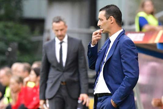 Le sélectionneur Olivier Echouafni peut être perplexe : les Bleues ont des difficultés lors de cet Euro 2017.
