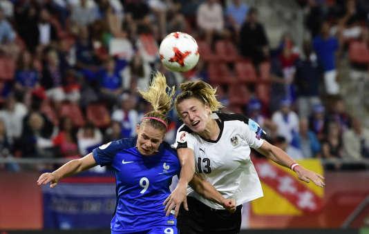 L'équipe de France féminine a été accrochée par l'Autriche samedi à Utrecht (1-1).