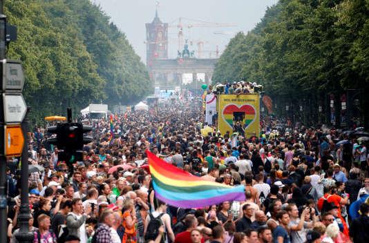 39e « Christopher Street Day » à Berlin.