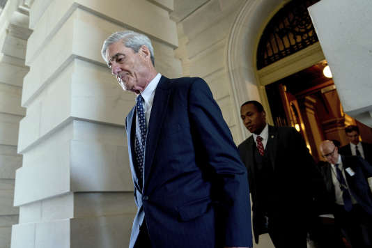 Robert Mueller, procureur spécial chargé d'enquêter sur les liens supposés entre l'équipe de campagne de Donald Trump et la Russie, le 21 juin.