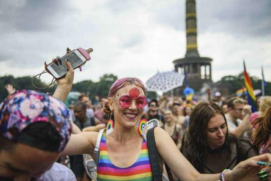 La parade de la Gay Pride à Berlin.