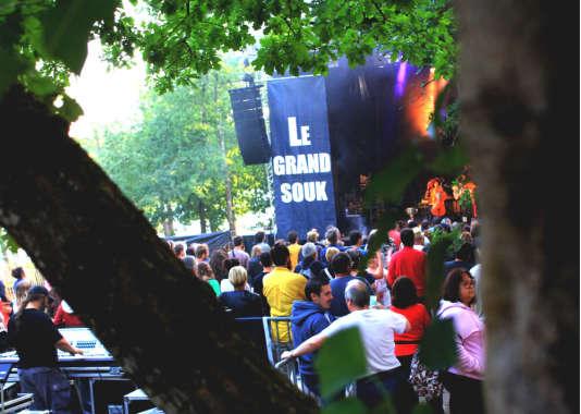 Au festival le Grand Souk, juillet 2017.
