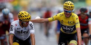 Chris Froome peut se réjouir : il a désormais quatre Tours de France à son palmarès.