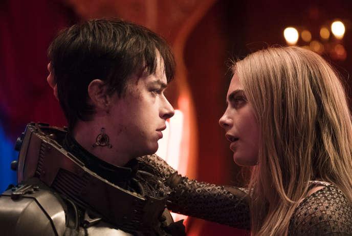 Dane DeHaan et Cara Delevingne dans« Valérian», de Luc Besson.
