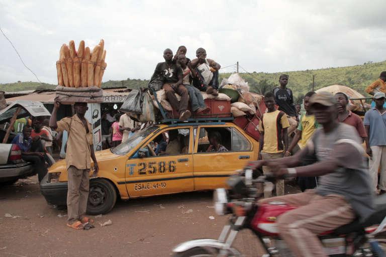 Au marché duPK12, au nord de Bangui, en 2015.