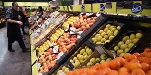 La vente des produits alimentaires issus d'une agriculture respectueuse de l'environnement a bondi de 20 % en 2016, pour atteindre 7 milliards d'euros.