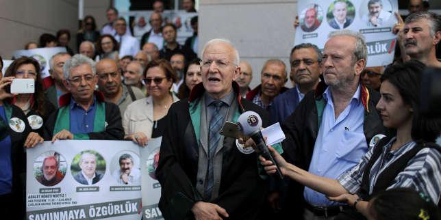 Manifestation à Istanbul, le 6 juillet 2017.