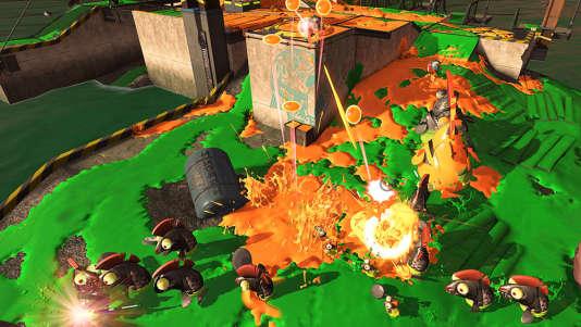 Par rapport à son prédecesseur sur WiiU,«Splatoon2» propose de nouveaux modes de jeu.