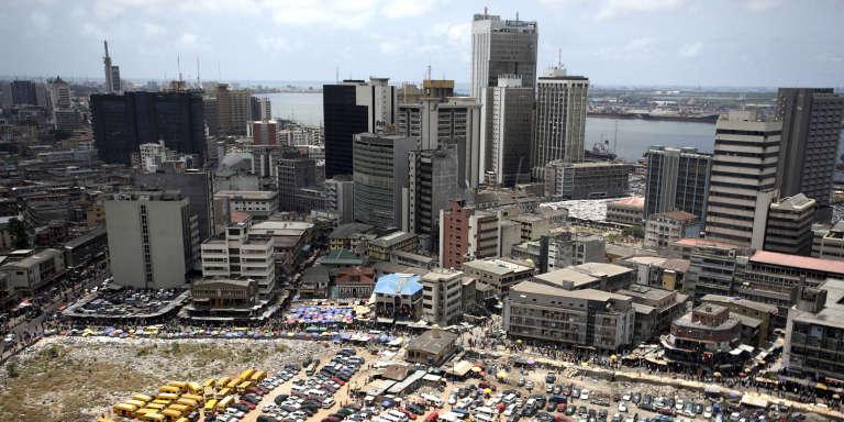 Lagos, en 2009. La capitale économique du Nigeria est la ville la plus peuplée du continent.