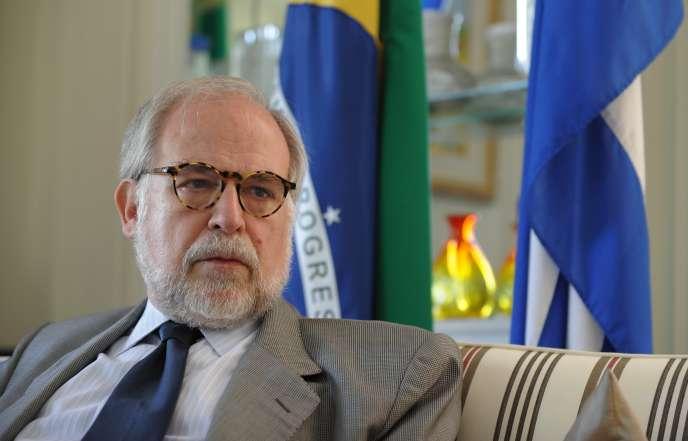 Marco Aurelio Garcia, à La Havane, au cours d'un voyage officiel à Cuba, le 10 mars 2011.