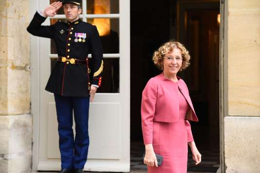 La ministre du travail Muriel Pénicaud, le 25 janvier 2017.