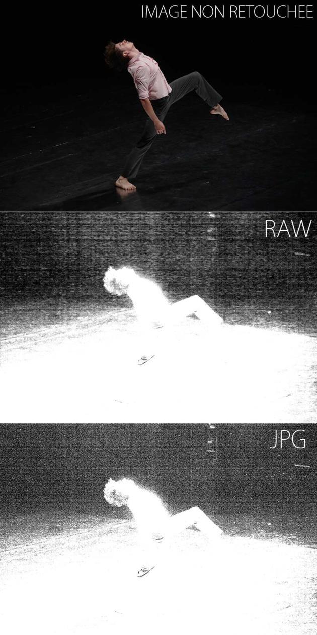 Spectacle des Ballets du Rhin. Mathieu Guilhaumon, soliste et chorégraphe (Canon 5D mk2)