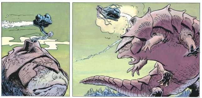 Pierre Christin : « Le métier de scénariste de bande dessinée consiste à nourrir l'imaginaire du dessinateur.» («L'Ambassadeur des ombres».)