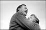 Ernest Hemingway et Martha Gellhorn, quelques jours avant leur mariage, aux Etats-Unis, en 1940.