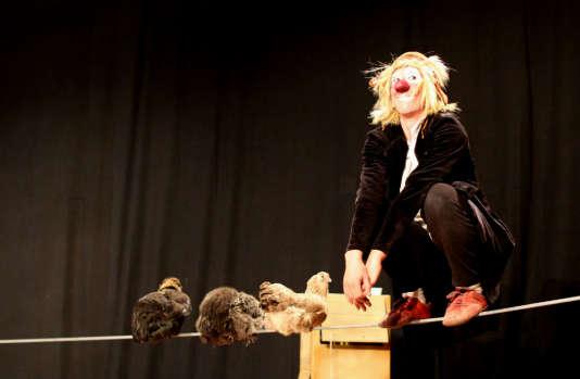 Johanna Gallard dans« L'Envol de la fourmi».