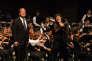 Andrew Staples et Gun-Brit Barkmin interprètent« Salomé» de Richard Strauss, à Verbier (Suisse), le 21 juillet.