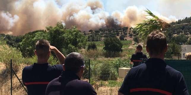 Des milliers d'hectares partis en fumée, 10 000 personnes évacuées dans le Var, 540 sapeurs-pompiers mobilisé