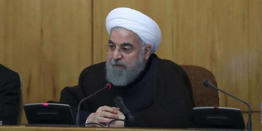 Le président iranien, Hassan Rohani, a prêté serment le 5 août après sa réélection en mai et fait face aux pressions américaines.