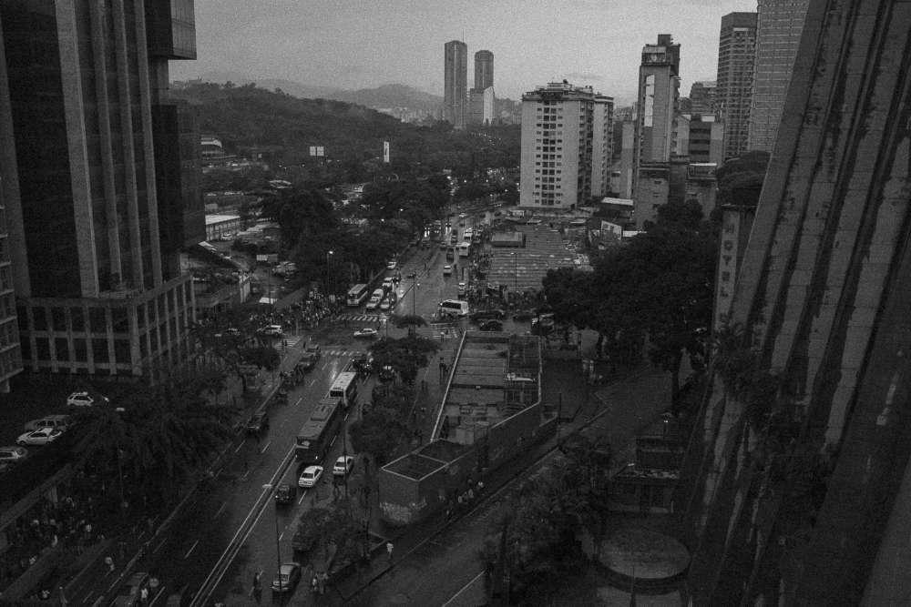 Caracas, du haut d'un immeuble.