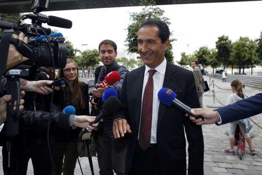 Patrick Drahi, actionnaire majoritaire d'Altice, propriétaire de SFR.
