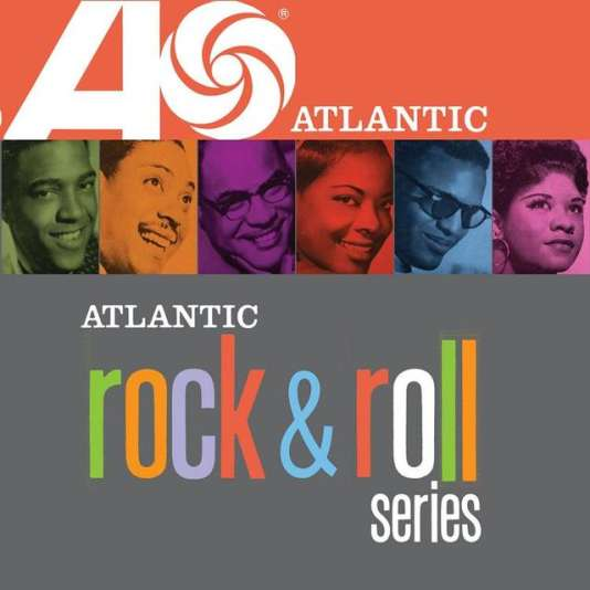 Pochette du coffret « Atlantic Rock & Roll Series », six albums deRuth Brown, LaVern Baker, Clyde McPhatter, Joe Turner, Ray Charles et Ivory Joe Hunter.