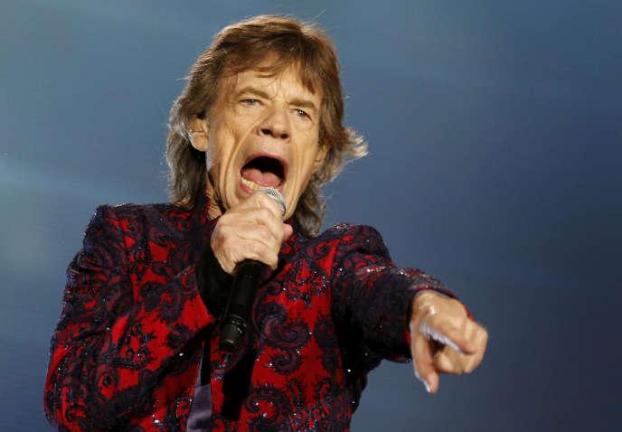 Mick Jagger le 14 mars 2016 à Mexico City.