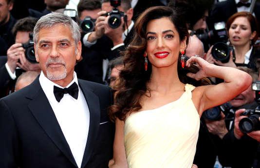 George et Amal Clooney au Festival de Cannes en mai 2016.