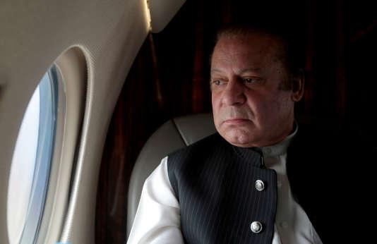 Le premier ministre démissionnaire pakistanais Nawaz Sharif le 3 février.
