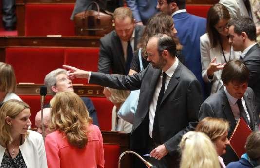 Examen du projet de loi «confiance dans l'action publique» à l'Assemblée nationale à Paris, le 26 juillet.