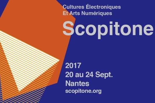 Affiche du festival Scopitone.