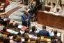 Le ministre de la cohésion des territoires Jacques Mézard à l'Assemblée nationale à Paris, le 26 juillet.