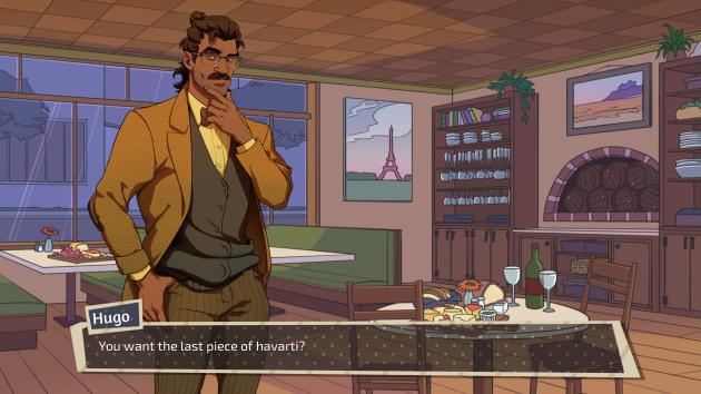 « Dream Daddy» est un« visual novel», genre où le dialogue tient une place prépondérante.