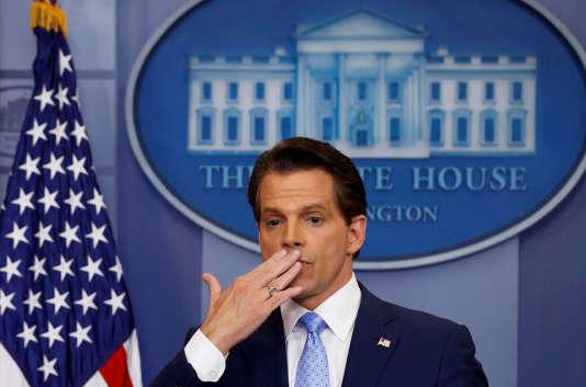 Anthony Scaramucci, le 21 juillet à la Maison Blanche.