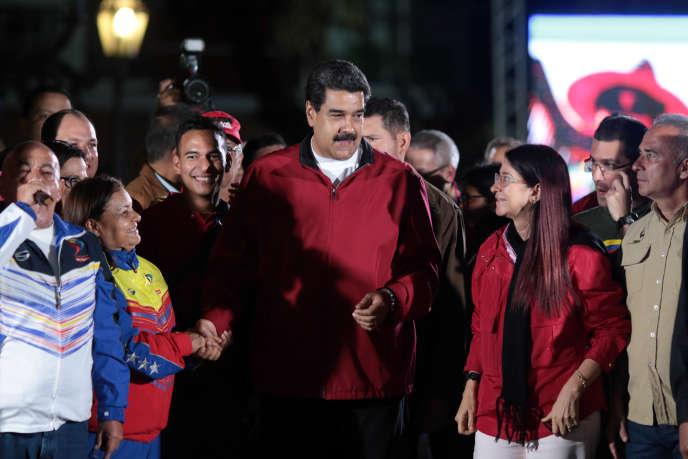 Nicolas Maduro, le 31juillet à Caracas.