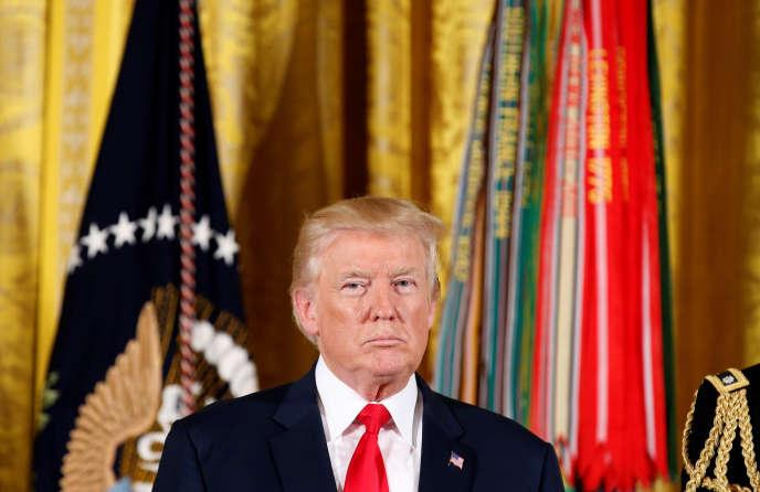 Donald Trump, le 31juillet, à Washington.