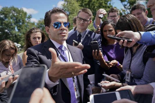 Anthony Scaramucci, à la Maison Blanche, le 25 juillet.