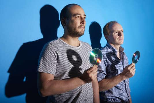 Laurent Sarfati (à gauche) et Jérôme Darnaudet.