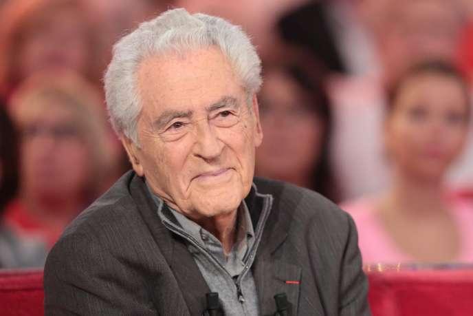 Charley Marouani lors de l'enregistrement de l'émission« Vivement dimanche» sur France 2, en 2015.