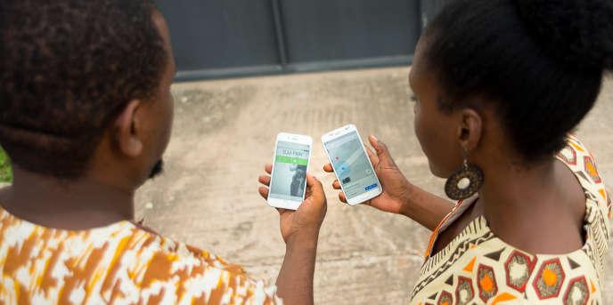 SnooCode, une application ghanéenne qui permet de générer un code unique pour chaque endroit grâce au système de géolocalisation des smartphones.