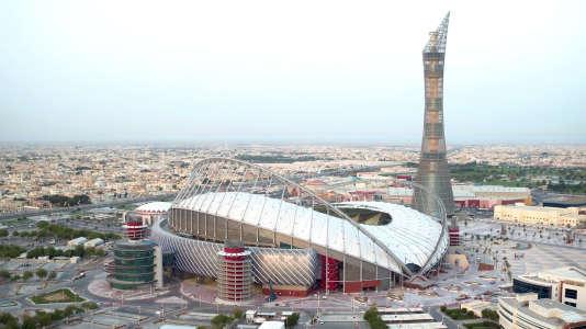 Le stade Khalifa, à Doha, en mai 2017. La plus ancienne enceinte du Qatar a été entièrement rénovée pour le Mondial 2022.