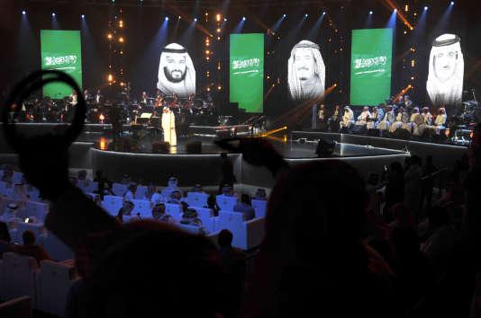 Le 30 janvier, à Djedda. Le public attend le début du premier concert organisé depuis sept ans dans la deuxième ville du royaume.