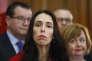 La nouvelle dirigeante du Parti travailliste de Nouvelle-Zélande, Jacinda Ardern, répond aux questions des journalistes mardi 1er août.