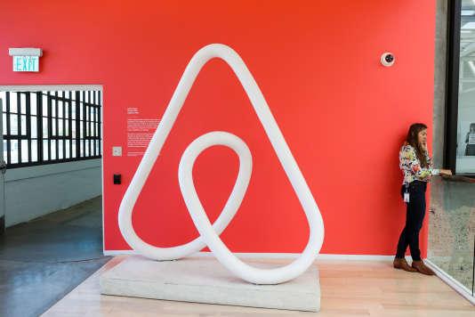 Siège d'Airbnb à San Francisco, en 2016.