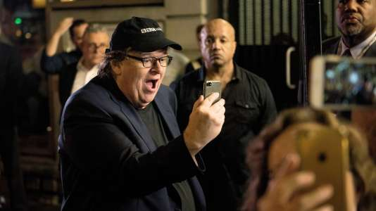 Michael Moore joue à domicile devant un public convaincuet conquis d'avance.