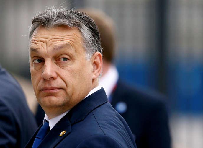 Viktor Orban à Varsovie, le 9 juillet 2016.