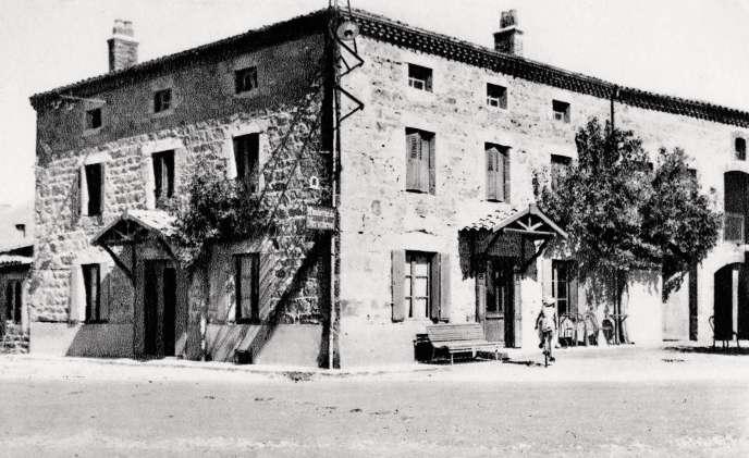 C'est dans une grande maison, près du Puy-de-Dôme, que Pierre Gagnaire est né.