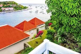Le port de Gustavia, chef-lieu de Saint-Barthélemy.