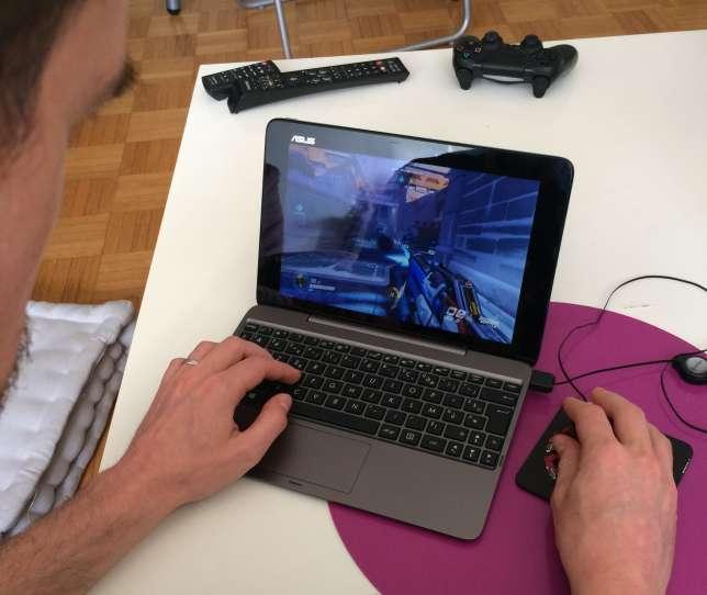 Via le Shadow, on peut jouer à «Overwatch» sur des machines ridiculement peu puissantes.