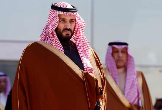 Le prince héritier Mohammed Ben Salman à Riyad, le 25 janvier 2017.