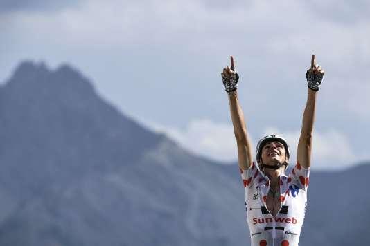 Warren Barguil, le 20 juillet lors du Tour de France.